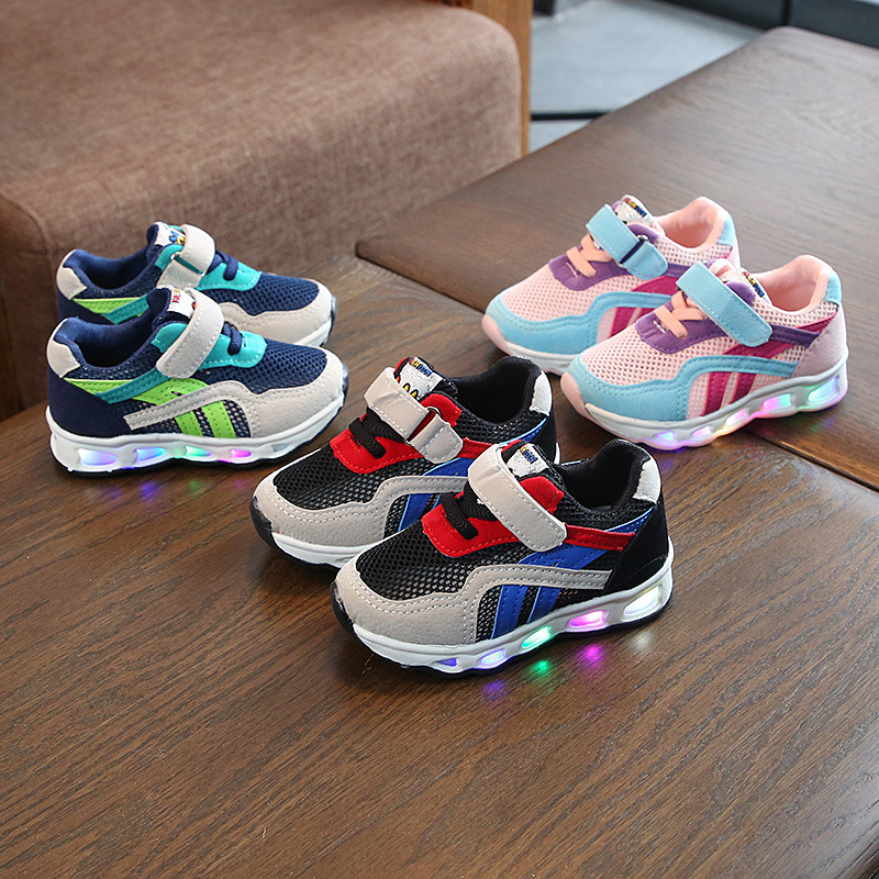 2019 Summer Luminous Sneakers for Boys Kids Led Shoes Krasovki Children Led Luminous Girls Shoes for Kids Glowing Sneakers2019 Summer Luminous Sneakers for Boys Kids Led Shoes Krasovki Children Led Luminous Girls Shoes for Kids Glowing Sneakers