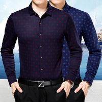 2017 Selling Classic Mens Shirts Long Sleeve Regular Size High Quality Smart Casual Turn Down Collar