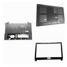 Cubierta de La Base Inferior del ordenador portátil para Acer Aspire E1-532 E1-530 E1-510 E1-570 E1-572 E1-572G E1-532G V5WE2 Z5WE1 Negro