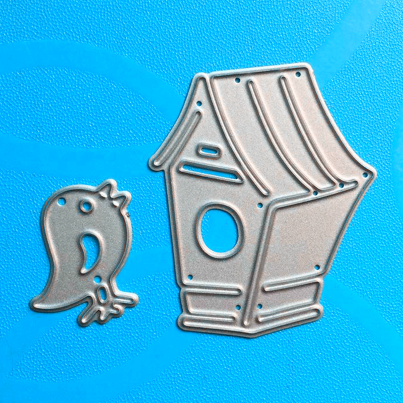 YLCD343 Bird Cage Metal Cutting Dies For Scrapbooking Stencils DIY Album Cards Decoration Embossing Folder Die Cutter Template in Cutting Dies from Home Garden
