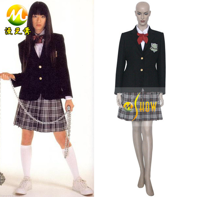 d9211229b0 2017 new movie cosplay costume Kill Bill Gogo Yubari Cosplay costumes for  halloween christmas party for