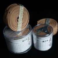 2017Natural Sandalwood Incense Home Fragrance Coil Incense Spice Antiseptic Refreshing 48 Coils Per Box Jasmine Rose Magnolia