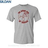 GILDAN Print Short Sleeve Tshirt Strange Cargo Men S Sausage King Of Chicago Tshirt