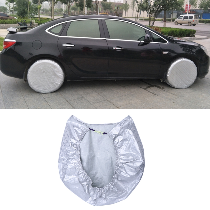 High Quality Tire Cover Waterproof Aluminum Film Sun Protectors Anti-Explosion 27 to 29  ...