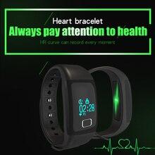 Оптовая продажа спортивных SmartBand часы горячая трекер сердечного ритма здоровый запястье шагомер Sleep Monitor для IOS телефона Android