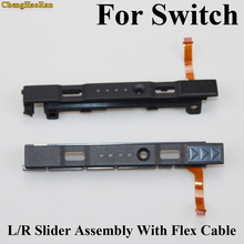 L/R Slider Assembly With Flex Cable Parts For Nintendo NS Switch Controller Joy-Con Replacement Repair Slider Set Left+Right New