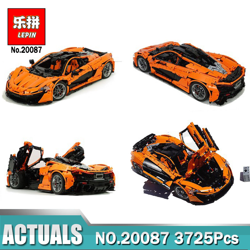 DHL Lepin 20087 Technic Hypercar Set Building Blocks Car DIY Model Bricks Compatible Legoings MOC-16915 Christmas Gift