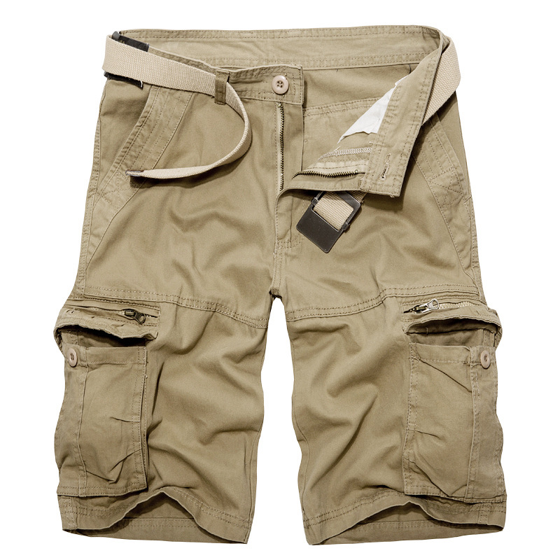 2019 Summer Shorts Men Cool Cotton Casual Short Pants Brand Clothing Comfortable Cargo