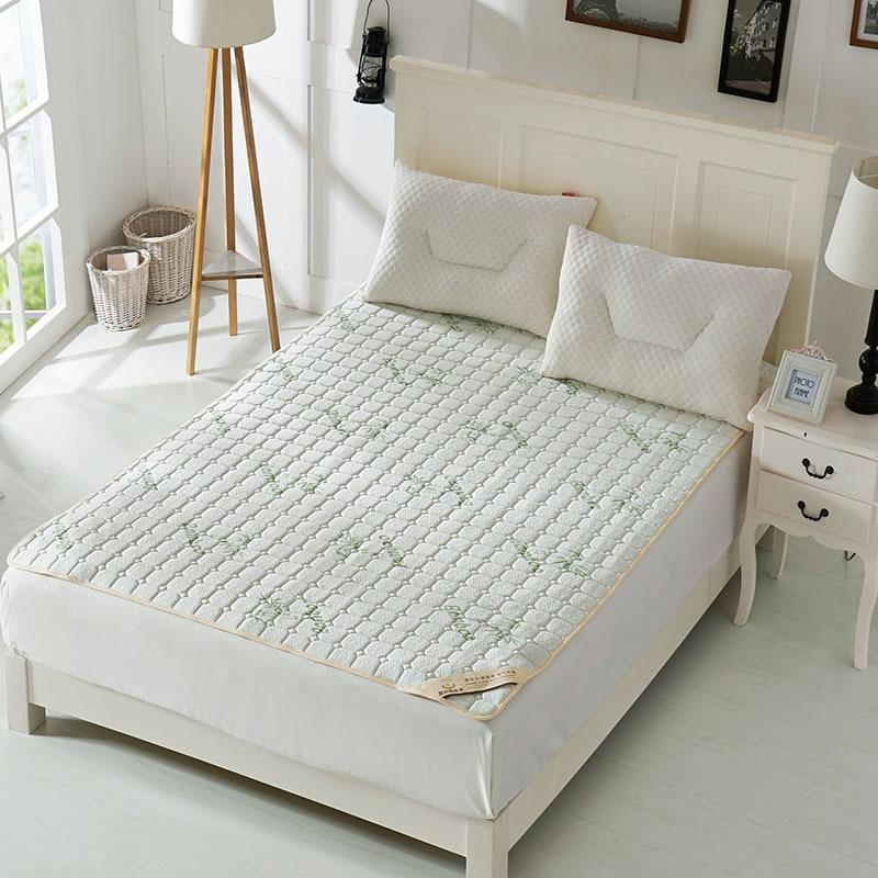 Hot Sale!  New Bamboo Fiber Memory Foam Mattress Foldable Mattress Single Double  Students Hostel Mattresses  Bedspread Bed Pad