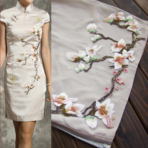 Декоративные цветы для платья