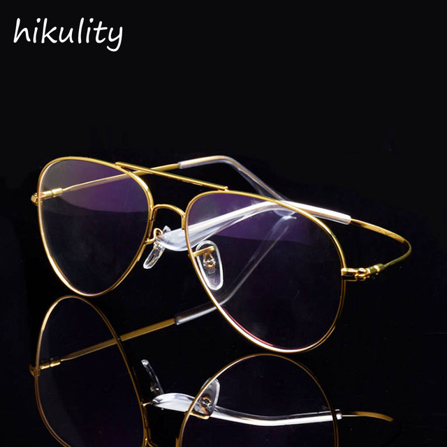 c83091f2987 Titanium Glasses Memory Metal Eyewear Frames Men Luxury Vintage Gold  Eyeglasses Clear Glasses Women Retro Spectacle Frames