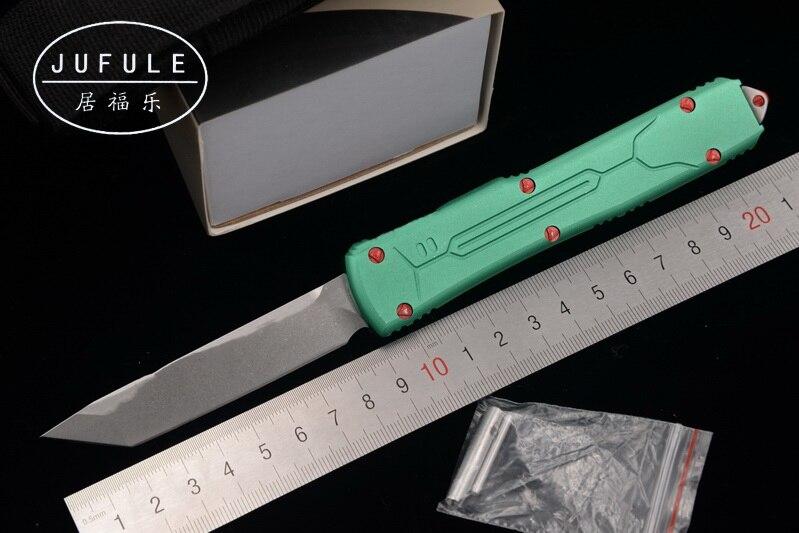 JUFULE Ultratech охотник за головами VG-10 лезвие алюминий Ручка Кемпинг выживания Открытый EDC Охота тактический инструмент ужин Кухня Ножи
