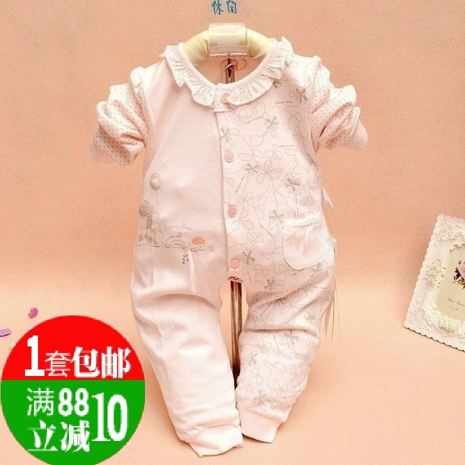 9399895afb03d Detail Feedback Questions about Free shipping Infant spring and autumn clothes  newborn 3 6 months old clothes 0 1 year old romper 12 on Aliexpress.com ...