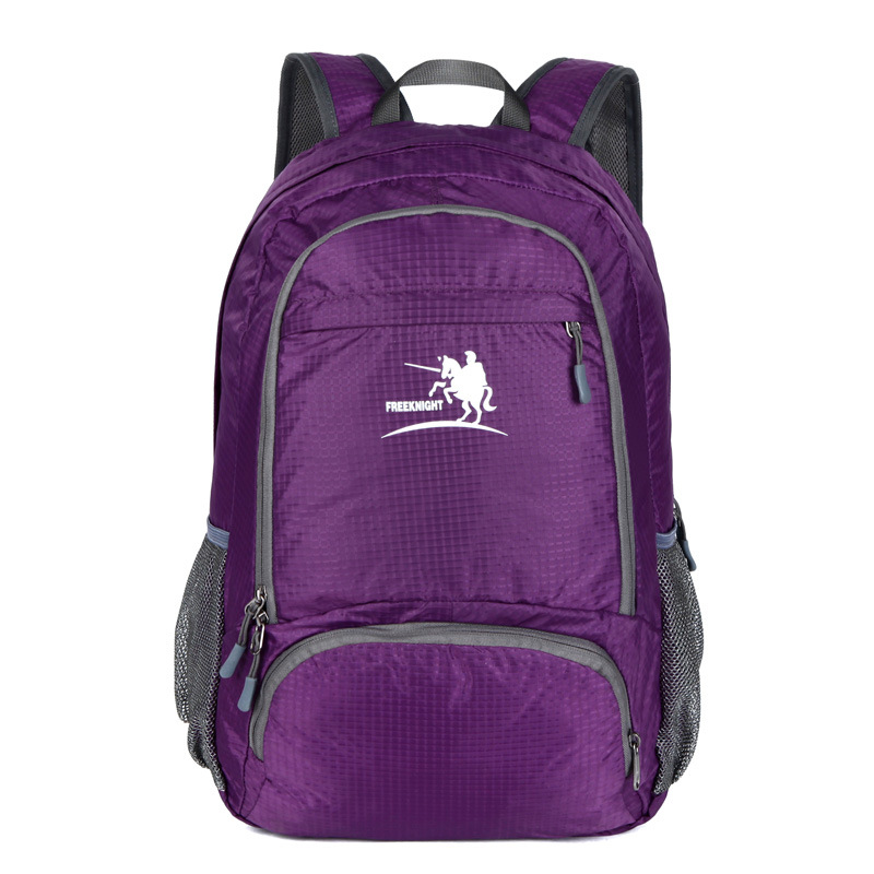 Folding Bags Waterproof Backpack 35L Nylon Portable Bag Folding Backpack teenagers travel bag