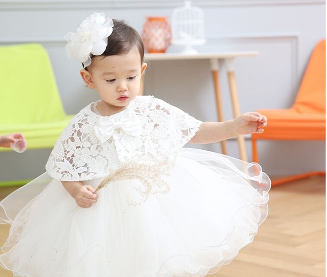 8c4b3d0414a0 Noble Princess Toddler Baby Girl Party Dress Ceremonies 1 Year ...