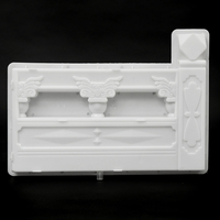 DIY Concrete Mold Fence Plastic Mold Flower Pool Brick Garden Courtyard Hole Paving Mold for Garden Building Supply