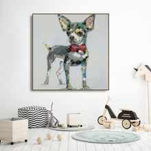 Watercolo Dog Canvas Painting Calligraphy Poster and Prints Living Room House Wall Decor Art Painting Home Decoration Picture black and white art canvas painting calligraphy poster and prints living room house wall decor art home decoration picture