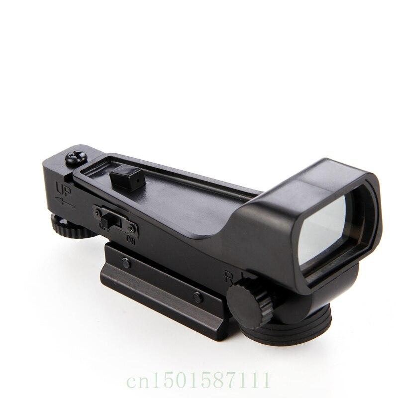 Mira táctica Reflex Vista de Red Dot Alcance Vista amplia Airgun 10 - Caza - foto 4