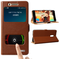 For Nokia 6 Invisible Magnet Genuine Leather Case For Nokia 6 Luxury Mobile Phone Bag Flip