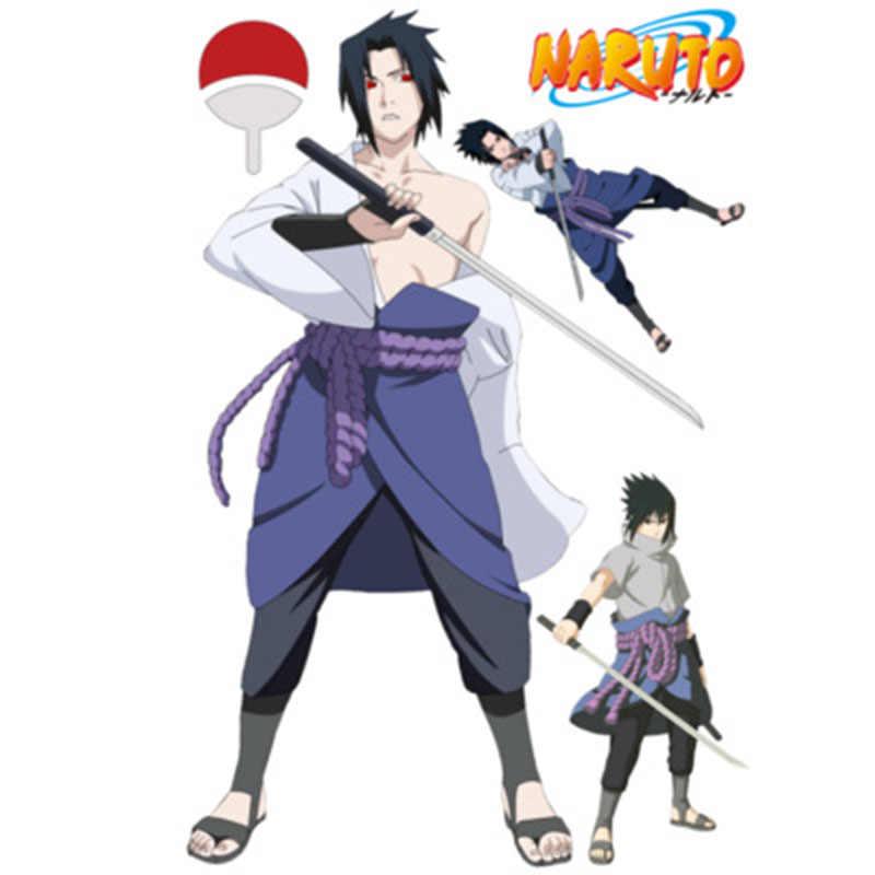 Ukuran besar 90 60 cm Naruto Anime Sticker Efek Visual 3D Wallpaper Stiker Modus Naruto Hatake.jpg q50