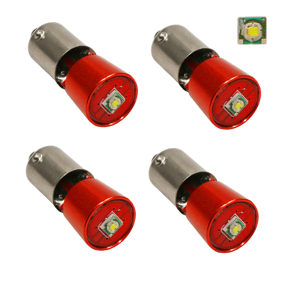 BA9S Led Light Super Bright Canbus White Lamps 3W Error Free t4w h6w Car LED interior Lights Car Light Source 6000K 4x 2pcs 12v 31mm 36mm 39mm 41mm canbus led auto festoon light error free interior doom lamp car styling for volvo bmw audi benz