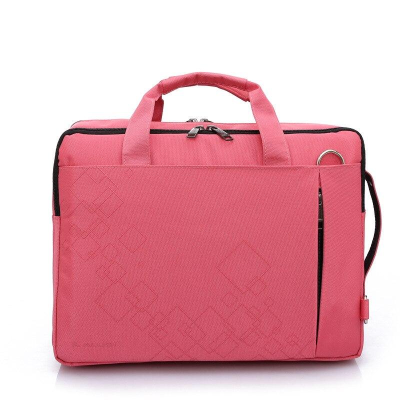 Tagdot Brand Women Bag For Laptop 15.6 Inch Men Notebook Bag 14 Inch Messenger Computer Sholder Bag Pink Black Red Purple