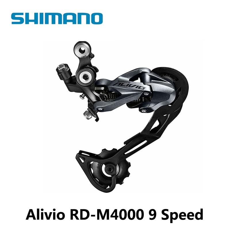 Sports & Entertainment Diligent Shimano Alivio Rd-m4000 9 Speed Mountain Bike Rear Derailleur 27 Speed Black Lucky Crazwind Hot Road Bike