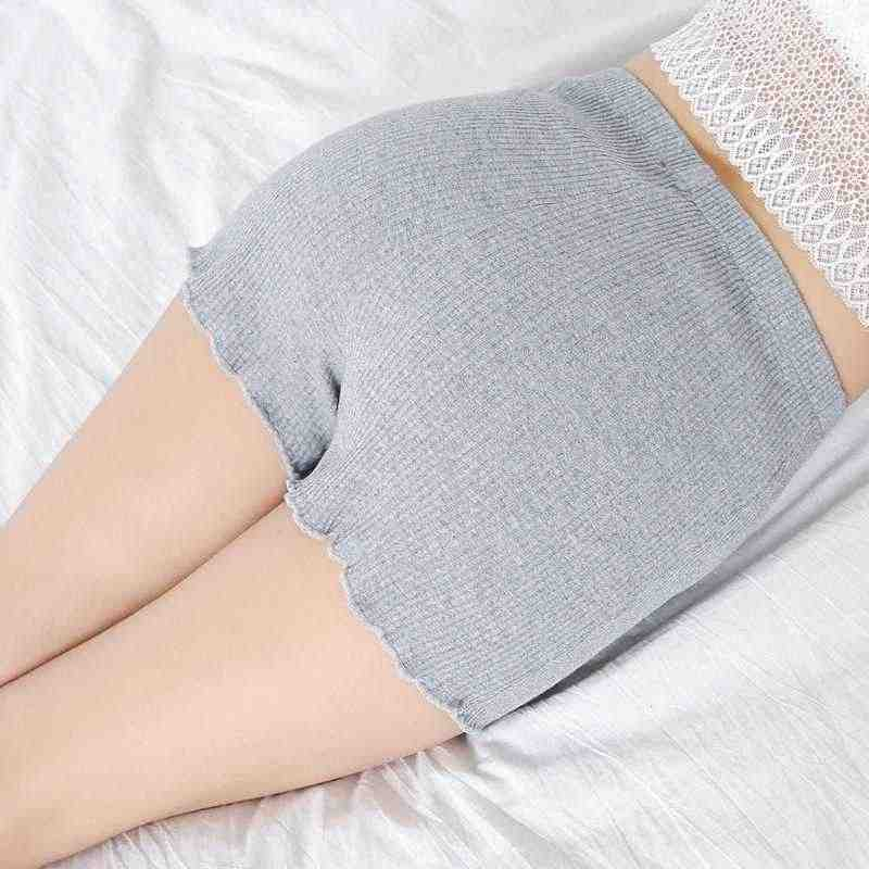 Dame gebreide katoenen effen zwart shorts vrouwelijke toevallige lage taille mini capri vrouwen plus size xl 3xl uitgerekt slanke korte broek