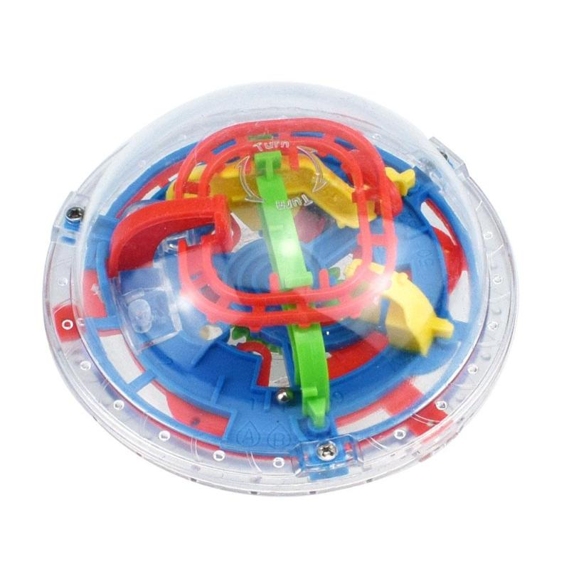 3D Puzzle Magic Maze Ball 75 Level Strategy Games Magical Intellect Puzzle Game IQ Balance Educational Toys for Kids