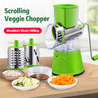 Lekoch Manual Vegetable Slicer Cutter Round Mandoline Slicer Kitchen Accessories Multifunctional Potato Cheese Kitchen Gadgets