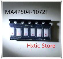 NEW 10PCS/LOT MA4P504-1072T MA4P504-1072 MA4P504   1-1500MHz .55pF 500Vdc
