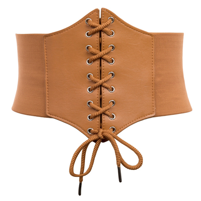 7ff26ba3ac8 Plus Size 3XL Corset Belt For Womens 2018 Fashion Lace Up PU Leather Luxury  Belt Cinch Tie Corset Waist Wide Belt Waistband