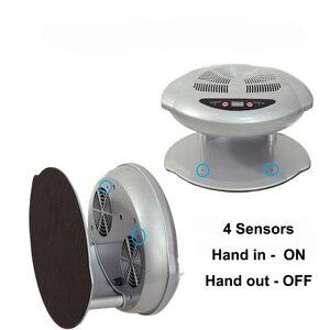 Image 3 - 400W 높은 전원 매니큐어 건조기 네일 팬 매니큐어 도구 네일 아트 장비 빠른 경화 네일 램프