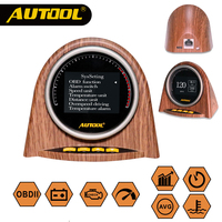 AUTOOL X70 Auto HUD Full OBD Protocol Automotive Headup Display Car OBD 2 Head up Display Meter 10th Anniversary Special Edition