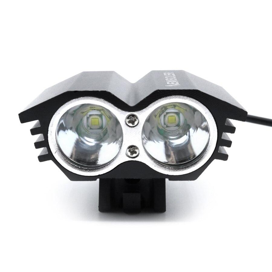 NEWBOLER Bicycle Lights 8000 Lumens USB Rechargeable Battery Lamp Bike LED Light Cycling Headlamp Head Flashlight Accessories