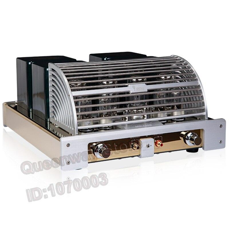 Queenway YAQIN MC-100B vacuum tube amplifier pure power vacuum amplifier integrated HIFI vacuum amplifier UL/TR KT88/6N8P/12AX7B