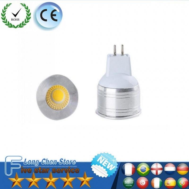 LED MR16 GU10 Spot Light Bulb 2W 5W 220V 85-265V Diameter Bright Mini Spotlight Bulb LED Lamp for living room bedroom 10Pcs/Lot