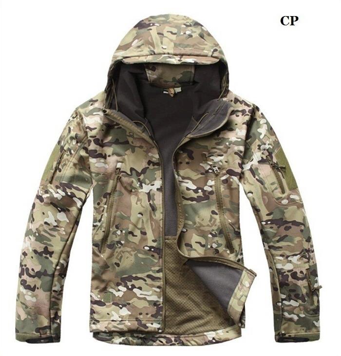2016 Jacke Männer Hohe Qualität Lurker Shark Haut Soft Shell Tad V 4,0 Military Jacke Wasserdicht Windjacke Mantel
