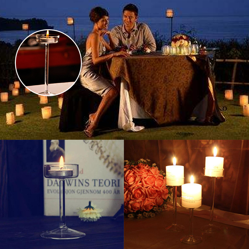 O. RoseLif Elegante Becher Entworfen Glas Kerzenhalter Hängen - Wohnkultur