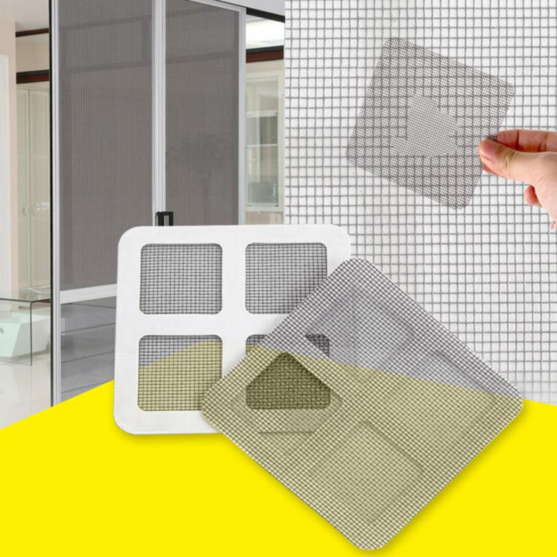 3pcs Anti-Insect Fly Door Window Mosquito Screen Net Repair Tape Patch Adhesive For Home Anti Drop shipping Wholesales