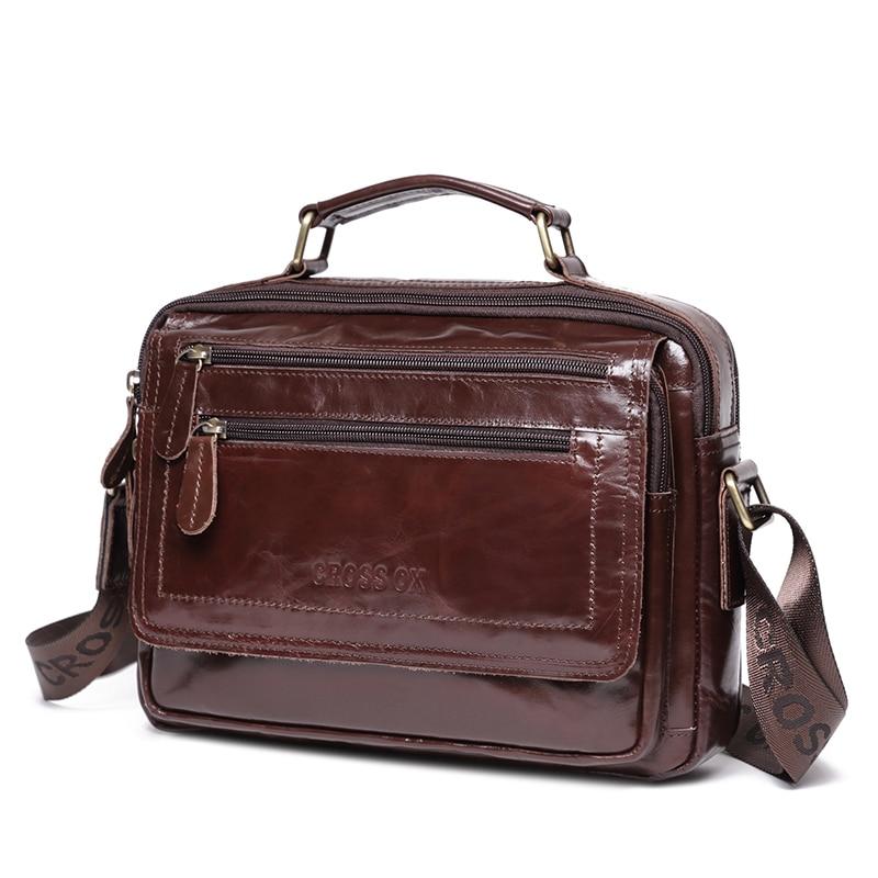 Кожаная сумка CROSSOX в классическом стиле SL423|cross ox|bag genuine leathersmall bag | АлиЭкспресс