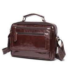 Кожаная сумка CROSSOX в классическом стиле SL423