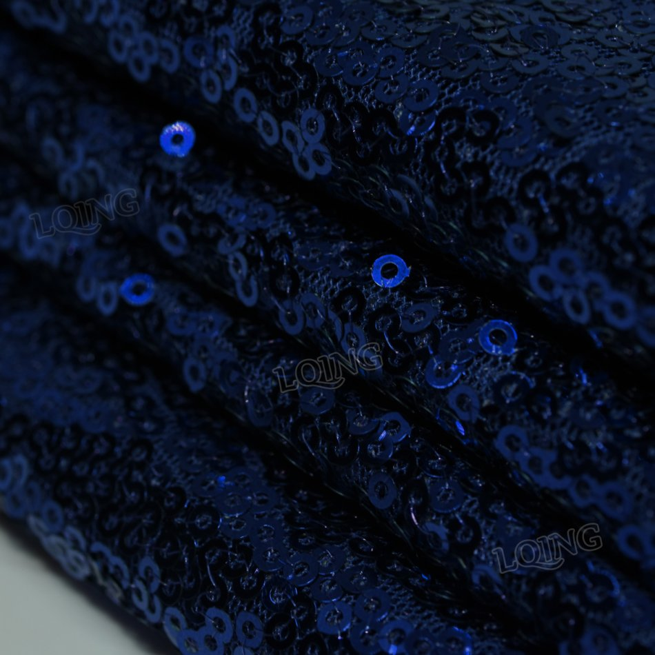 Popular navy sequin fabric buy cheap navy sequin fabric for Sparkly fabric