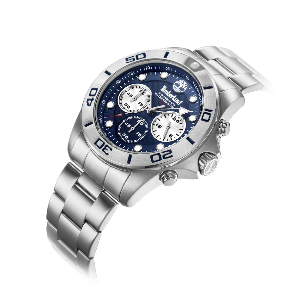 Timberland Mens Watches  Chronograph Casual Quartz Complete Calendar Water Resistant Mens Watches T13909 2