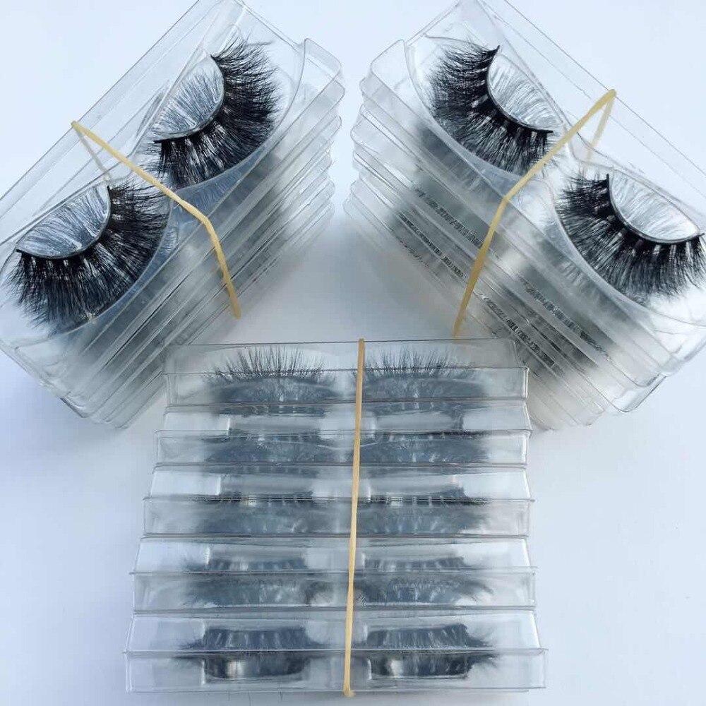 Serendi Ciglia 30 pairs ciglia di Visone 3D ciglia finte quotidiano all'ingrosso riutilizzabile ciglia di visone nuovo fatti a mano cilios-in Ciglia finte da Bellezza e salute su  Gruppo 2