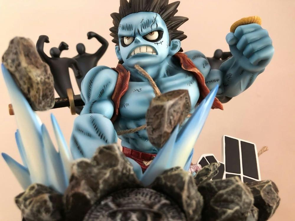 Action & Toy Figures New Eiichiro Oda Anime Comic One Piece The Straw Hat Pirates Nightmare Monkey D Luffy Garage Kit Figure Figurine Toys