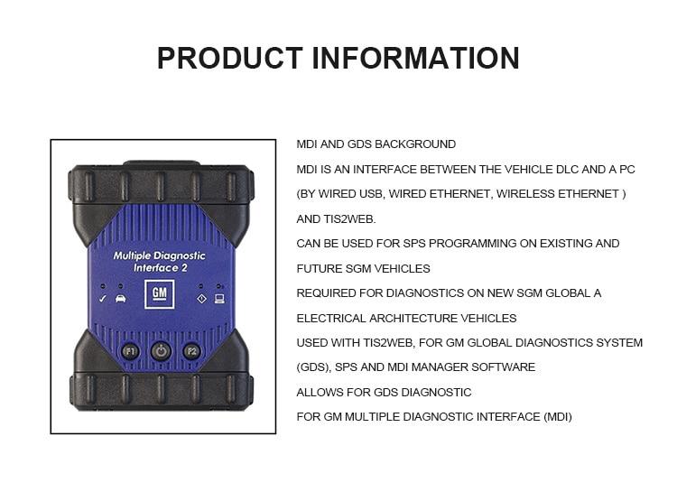 HOT SALE] Newest MDI Multiple Diagnostic Interface MDI USB WIFI