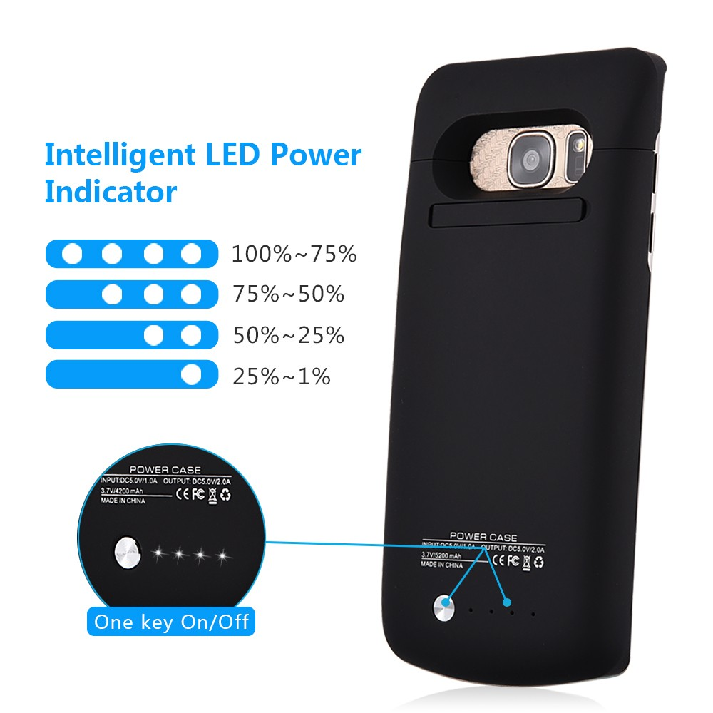 black battery charger case for s7  (4)