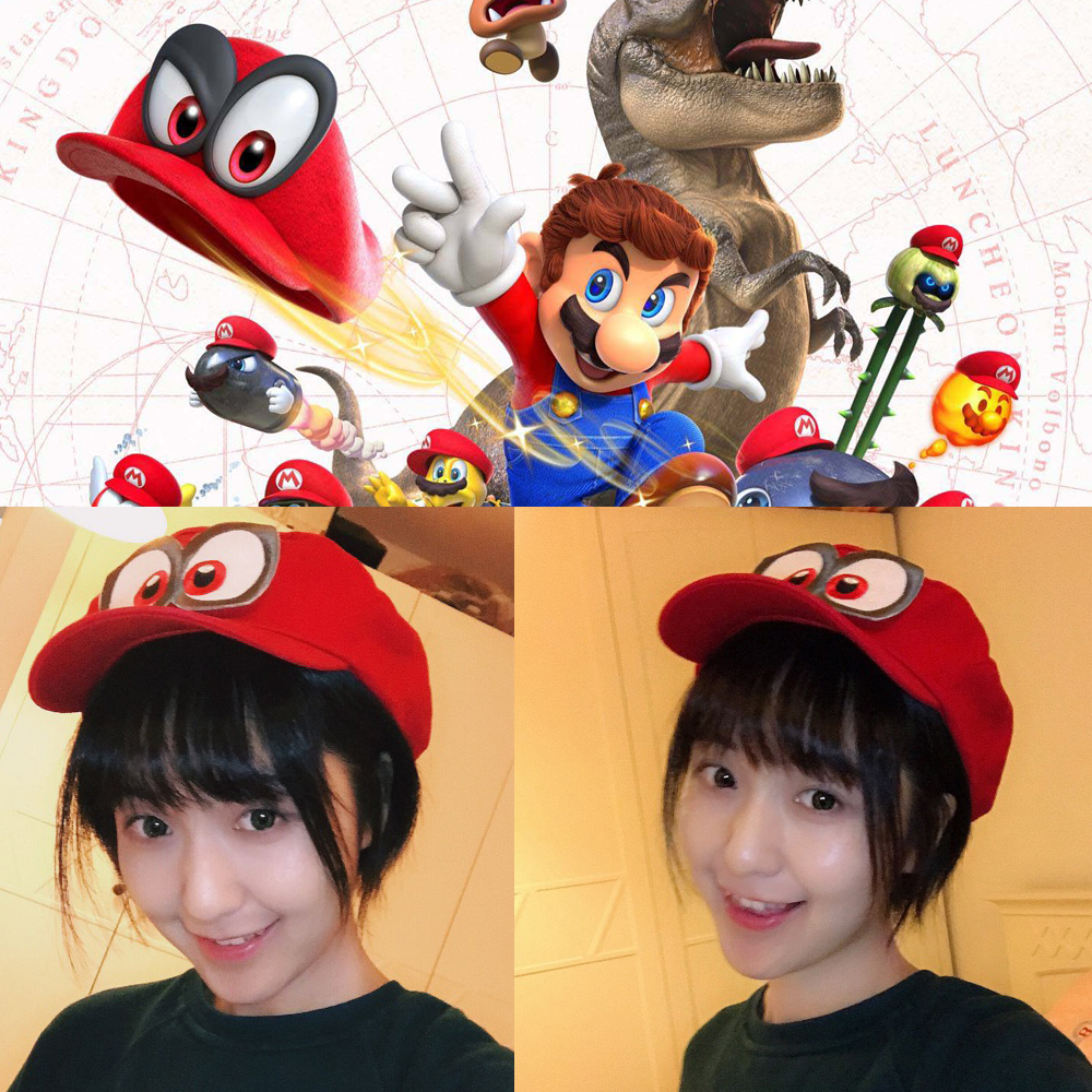Novelty & Special Use Costumes & Accessories Super Mario Hat Red Odyssey Wearable Baseball Caps Unisex Drop Shipping