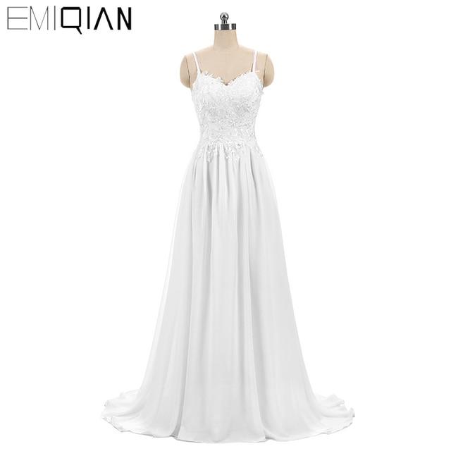 listo para envío nueva línea boda vestido novia barato casarse con